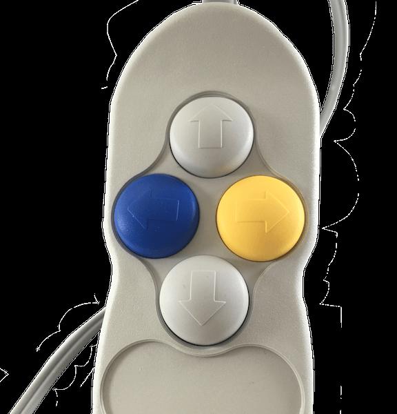 telecommande pneumatiques 4 boutons herga