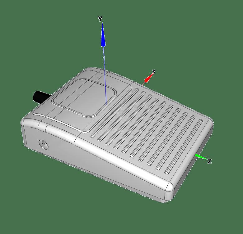 6210 3D pedale industrielle