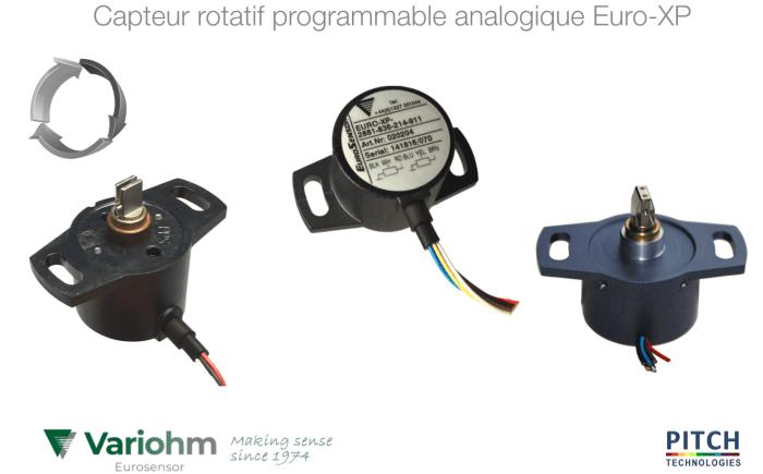 capteur rotatif programmable euro xp