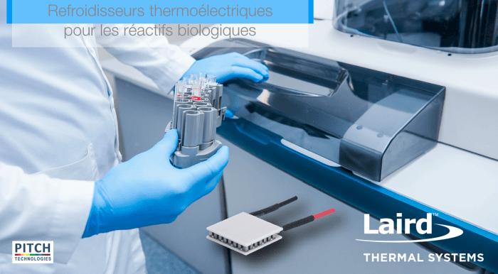 Refroidisseurs thermoélectriques pour réactifs biologiques