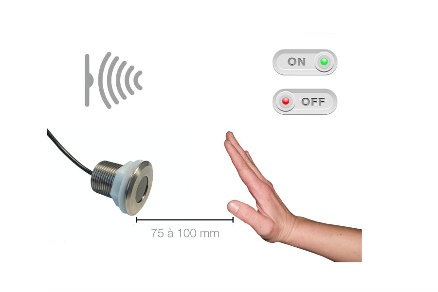 Interrupteur détecteur de mouvement pour distributeur automatique
