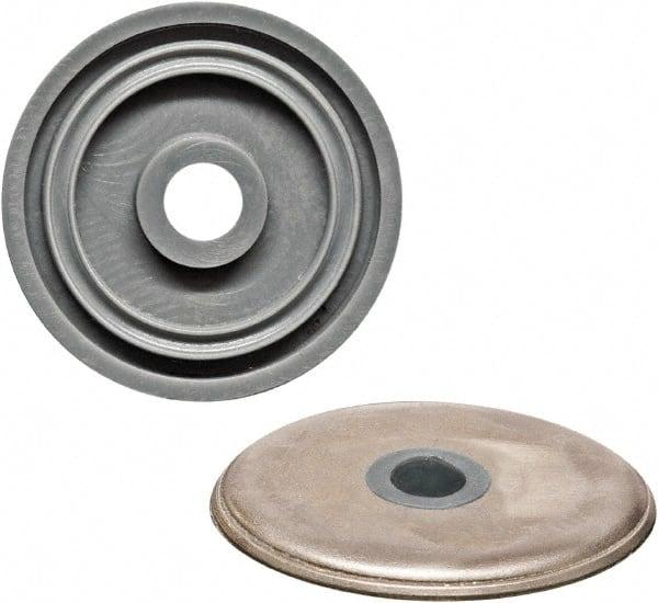 rondelle acier inox étanche M10 avec joint silicone 10010