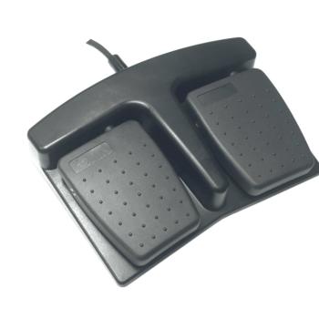 Pédale double noire étanche électrique