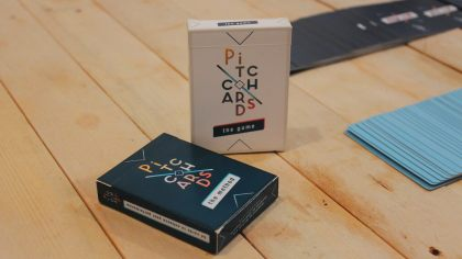 pitch cards kit - startup training