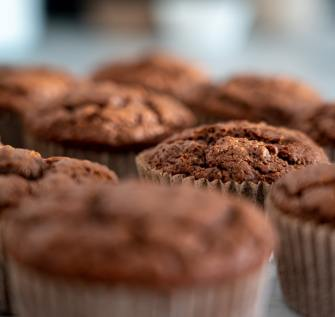 Chocolate cupcakes. Photo by Castorly Stock from Pexels.