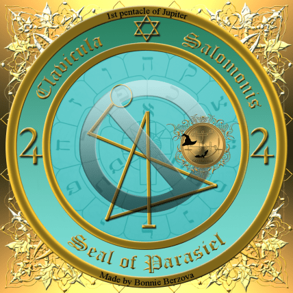 The seal of Parasiel