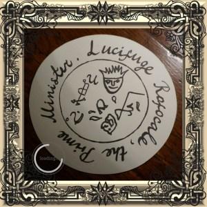 Dies ist das Siegel von Lucifuge Rofocale aus dem Grand Grimoire.