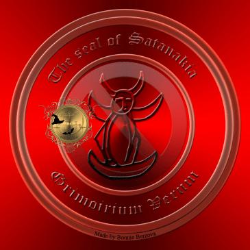 This is the seal of Satanakia from Grimoirium Verum