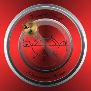 Dämon Morail wird im Grimoirium Verum beschrieben und dies ist sein Siegel.