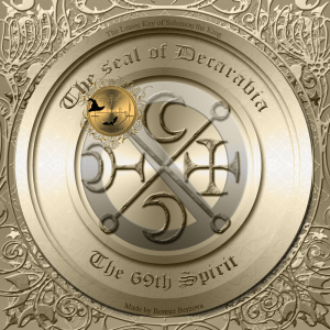 This is the seal of Decarabia from Goetia.
