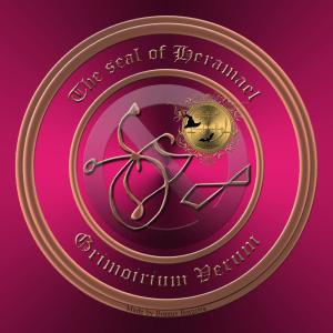 Heramael von Grimorium Verum lehrt die Kunst des Heilens. Dies ist das Siegel des Dämons Heramael.