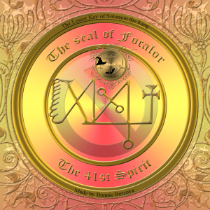 Demon Focalor is described in the Goetia and this is his seal. Ottastafur can be added to your magick with Focalor: scares away enemies.