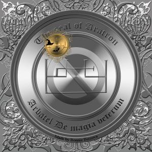 Aratron is described in the Arbatel de magia veterum and this is his seal.