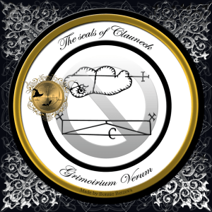 Demon Clauneck has two seals. Both seals are found in the Grimoirium Verum.