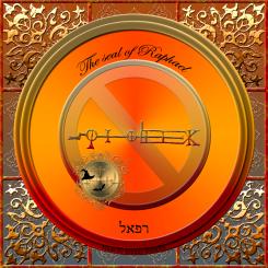The seal of Raphael (Mercury)