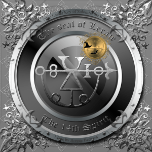 This is the seal of Leraje from Goetia.