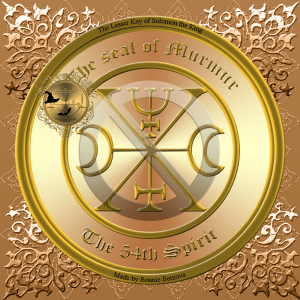 This is the seal of Murmur from Goetia. Murmur is the best spirit if you do magick with dead soldiers.