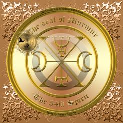 Demon Murmur is one of the best necromancy demons. This is his seal.