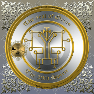 This is the seal of Orias from Goetia.