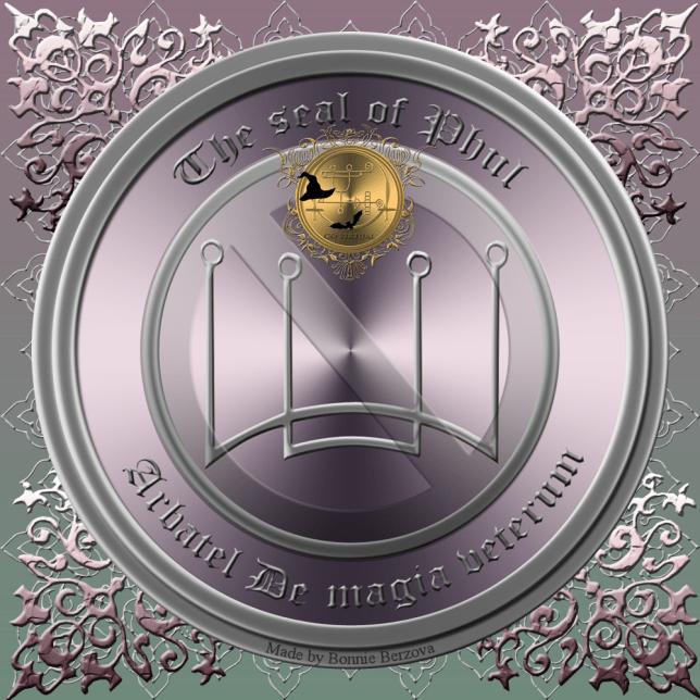 The seal of Phul (Arbatel De magia veterum)