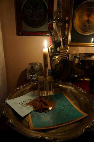 This is a money ritual with Bethor and the planetary talisman of Jupiter.