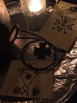 這是來自Goetia和Lucifer的惡魔Murmur的巫術儀式。