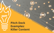 Examples of great content for pitch decks