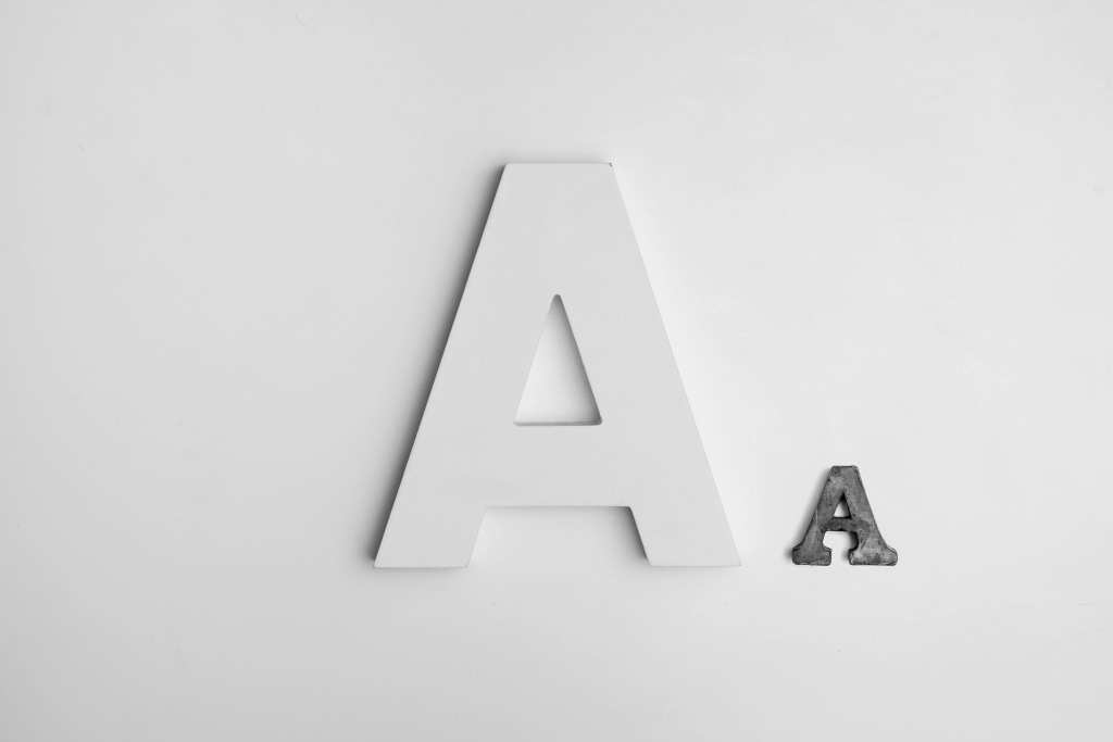 Pitch deck font