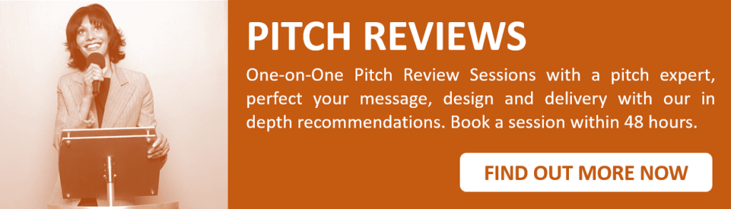 Review coaching pitch deck