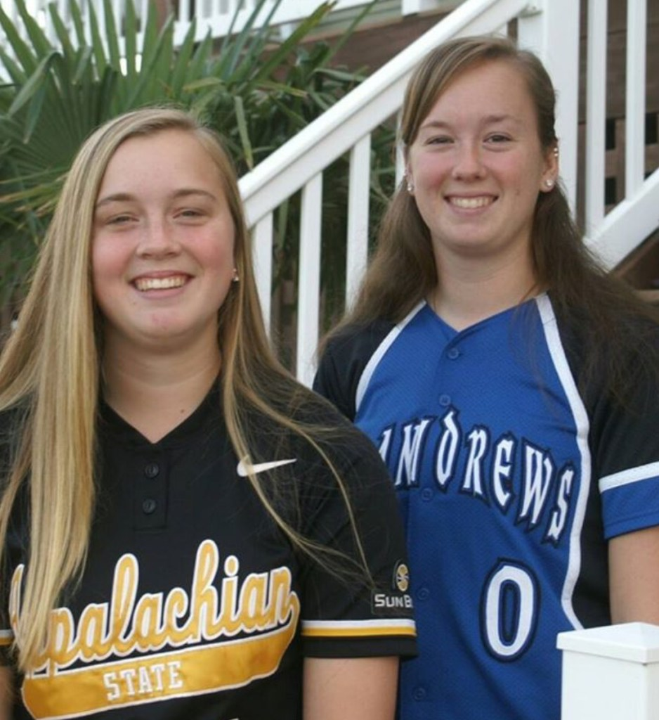 Claire Eosso, Appalachian St, Corinne Eosso, St Andrews