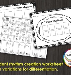 Music Composition Lesson Plan on Pizza Rhythms [ 877 x 1136 Pixel ]