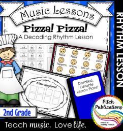 Music Composition Lesson Plan on Pizza Rhythms [ 1000 x 1000 Pixel ]