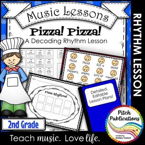 small resolution of Music Composition Lesson Plan on Pizza Rhythms