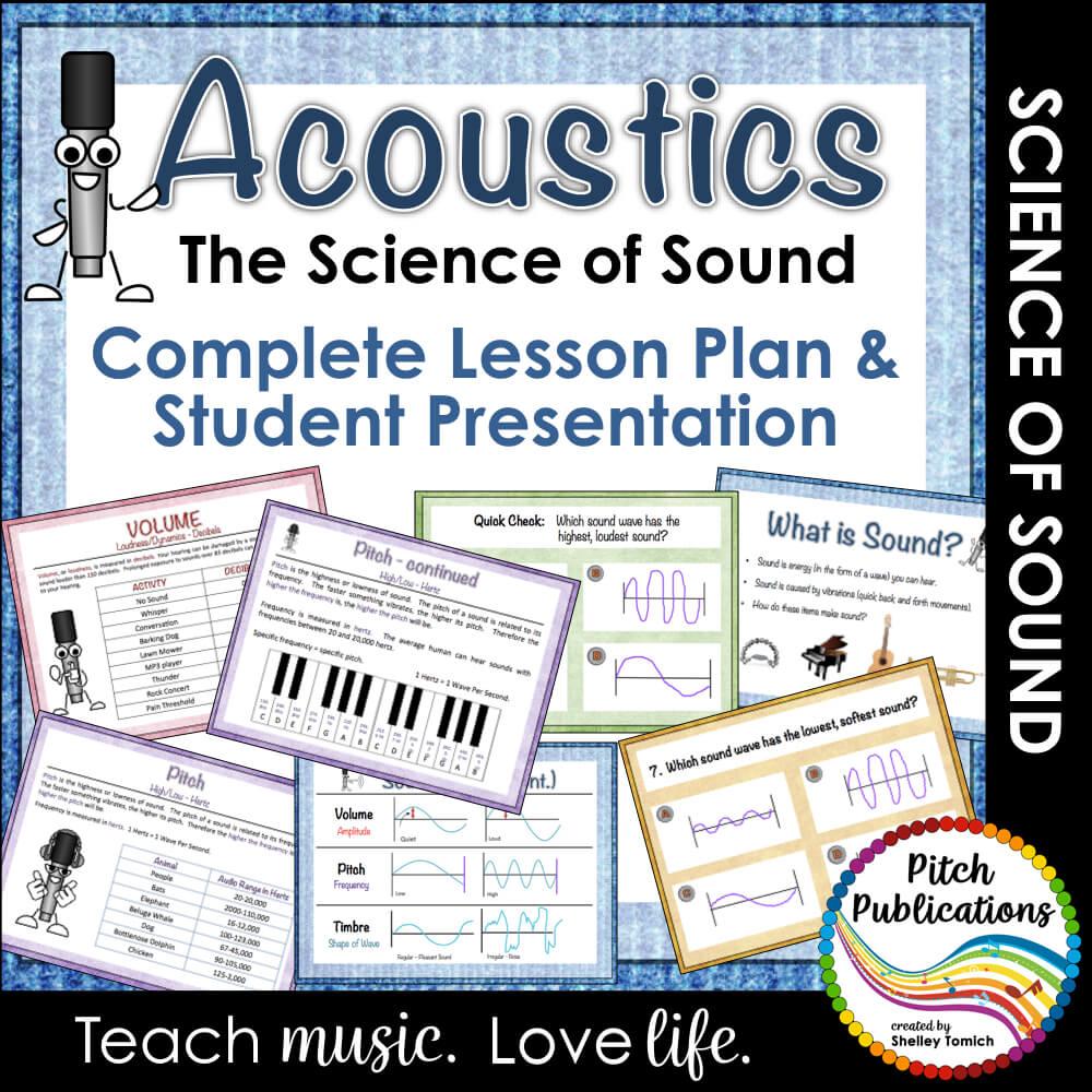 medium resolution of Science of Sound Unit: Music \u0026 Science Lesson