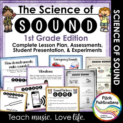 small resolution of Science of Sound Unit 1st: Lesson Plans