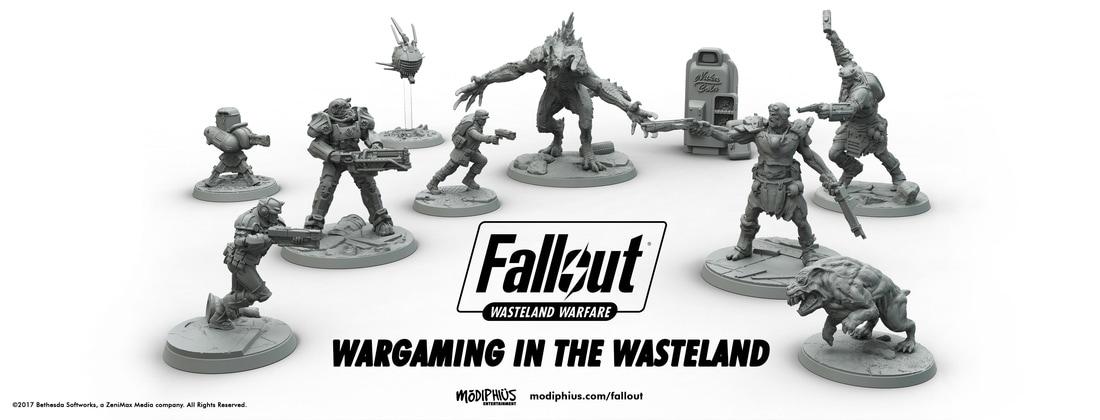 fallout wasteland warfare miniature game minis