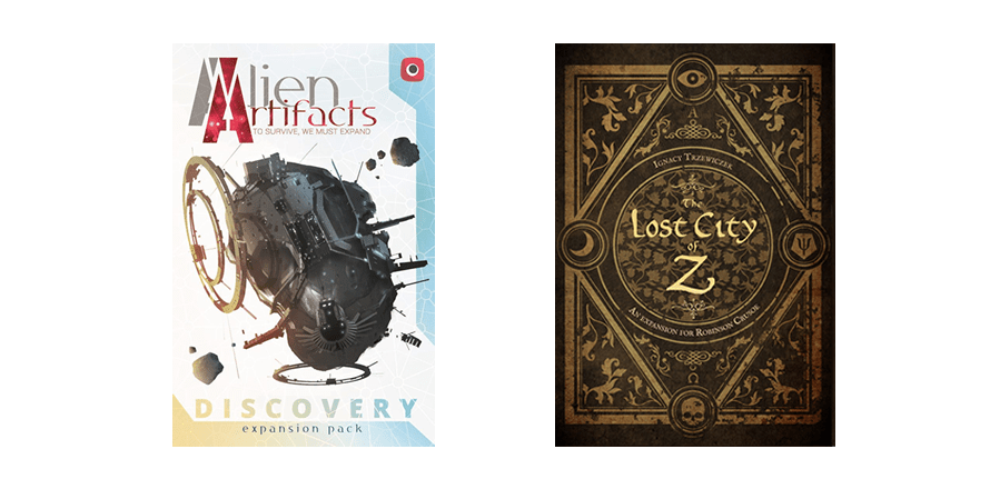 Alien Artifacts: Doscovery i Robinson Crusoe: The Lost City of Z