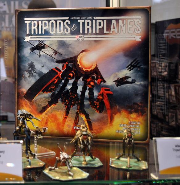 Tripods & Triplanes na Essen Spiel 2017
