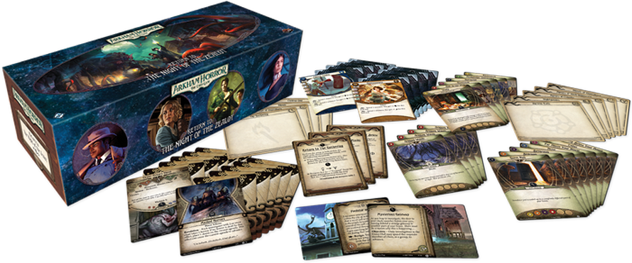 Arkham Horror: Return to the Night of the Zealot