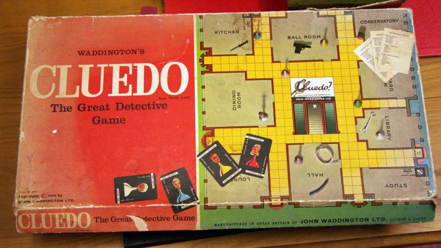 Cluedo (1960) FOTO: Steven Isaacson/Flickr Creative Commons/CC BY-SA 2.0