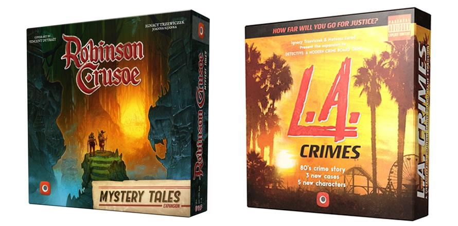 Robinson Crusoe: Mystery Tales, L.A. Crimes