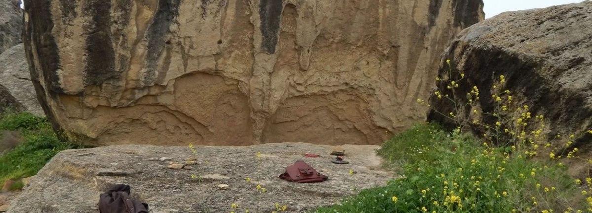 Drevna društvena igra u azarbejdžanskom nacionalnom parku