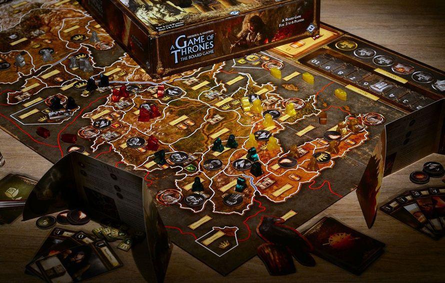 Game of Thrones 2nd Edition (PHOTO: Slashdoctor (BGG)