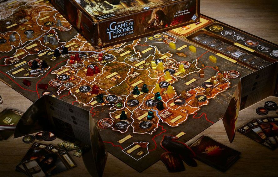 Game of Thrones 2nd Edition (PHOTO: Slashdoctor (BGG)