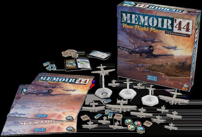 "Memoir '44"": New Flight Plan"