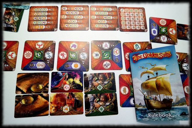 Golden Sails (PHOTO: MeeplePeat (BGG))