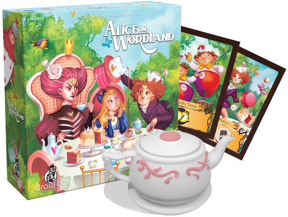 Nove društvene igre Alice in Wodland
