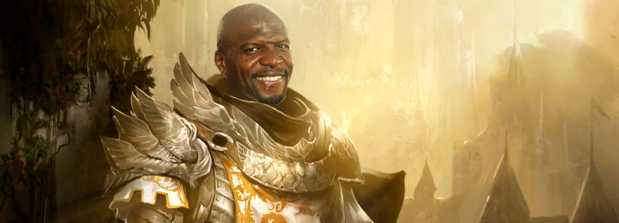 RPG alignment lawful good paladin Terry Crews