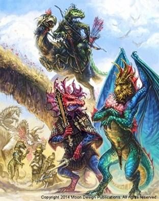 Glorantha dragons