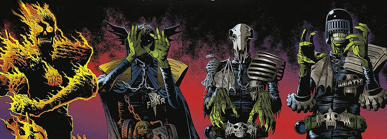 Judge Dredd Helter Skelter: The Dark Judges